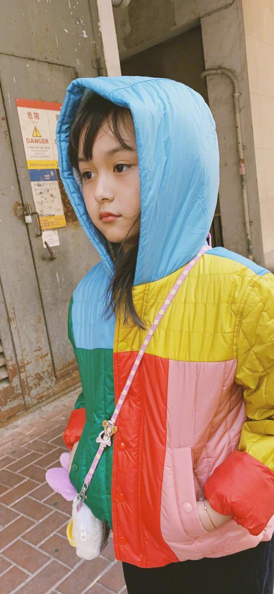 劉楚恬 小葡萄 小女孩 童星 街拍