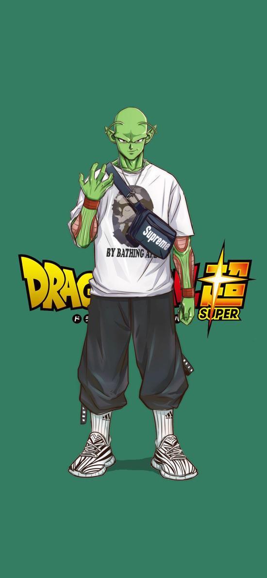 比克 龍珠超 漫畫 潮服 綠色
