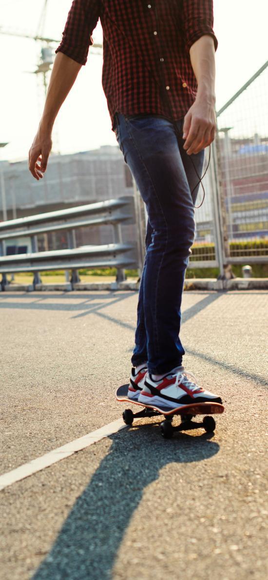 滑板 運動 戶外