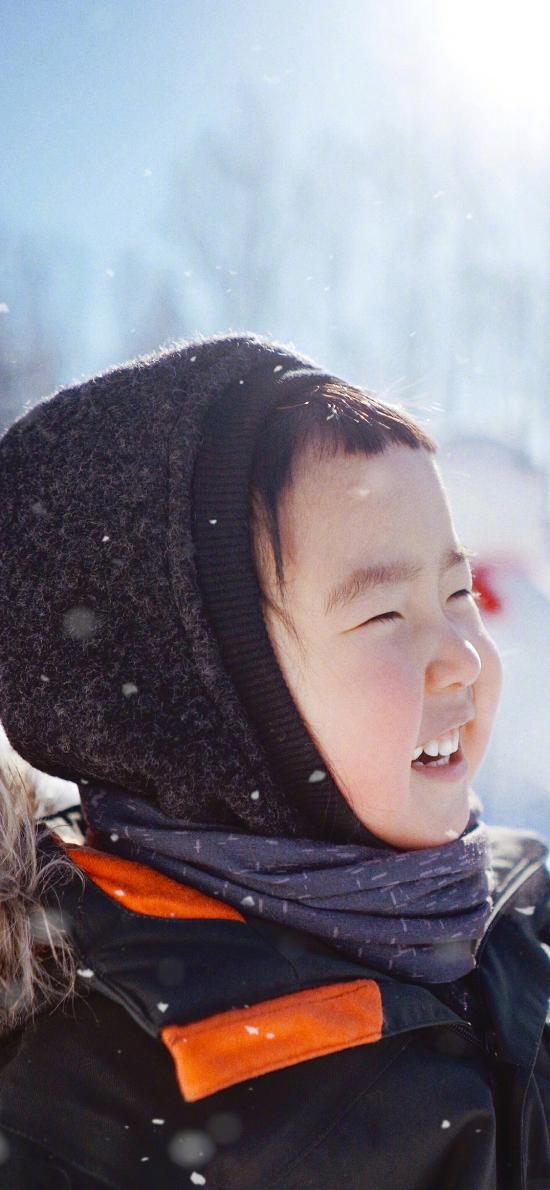 小蠻 小女孩 小網紅 可愛 冬天 雪