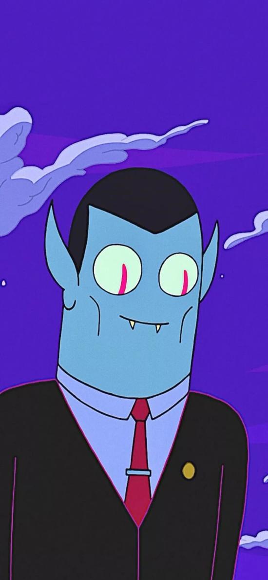 卡通 吸血鬼 尖牙 怪誕