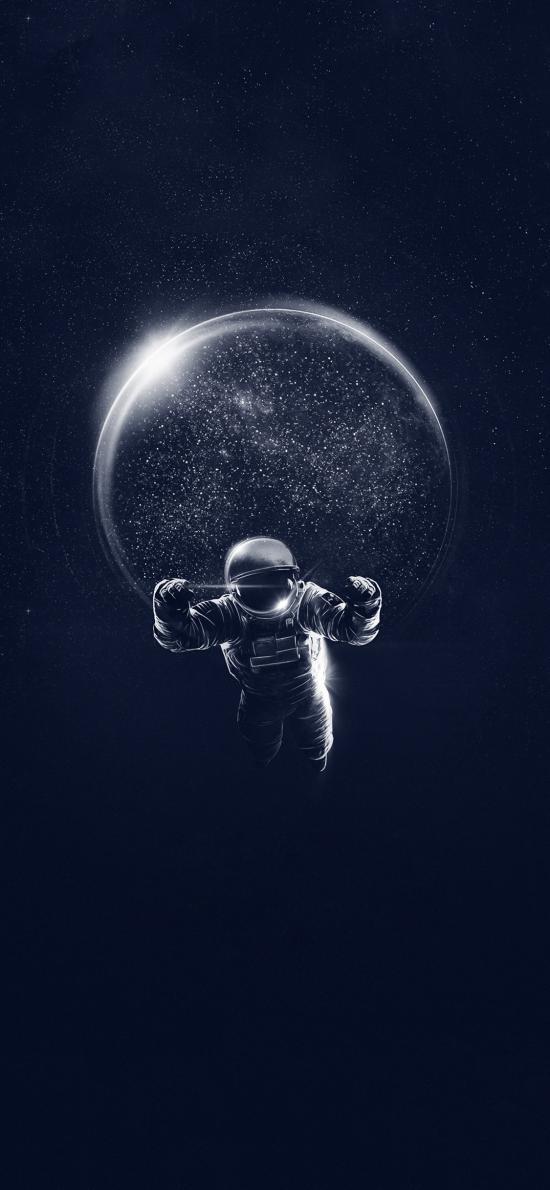 插圖 太空 星球 宇航員