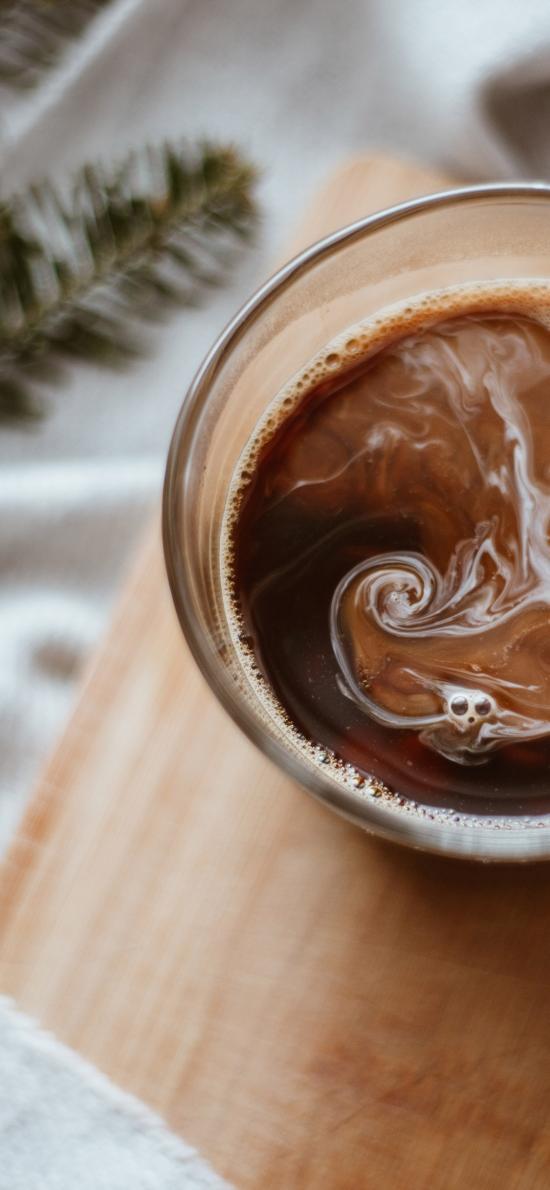 飲品 調制 咖啡 冰塊