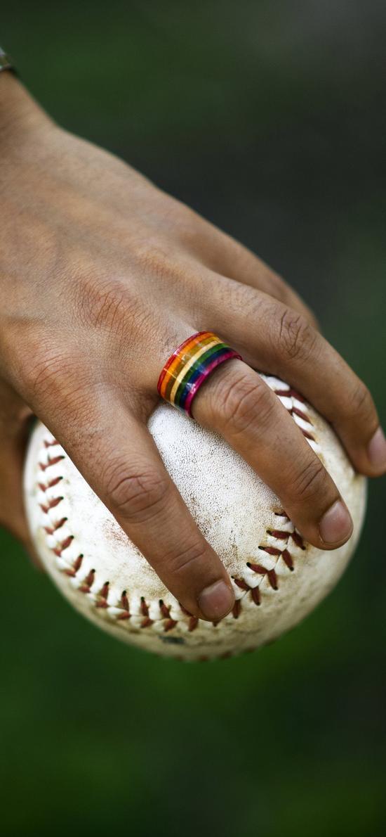 棒球 運動 手 握 縫紉線