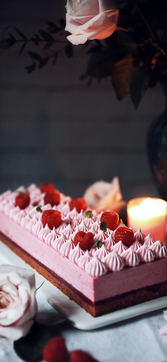 烘焙 甜品 蛋糕 樹莓