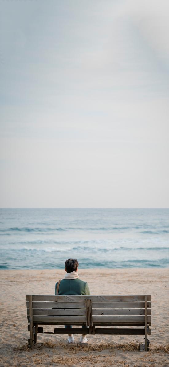 男朋友 韓劇 劇照 電視劇 海邊