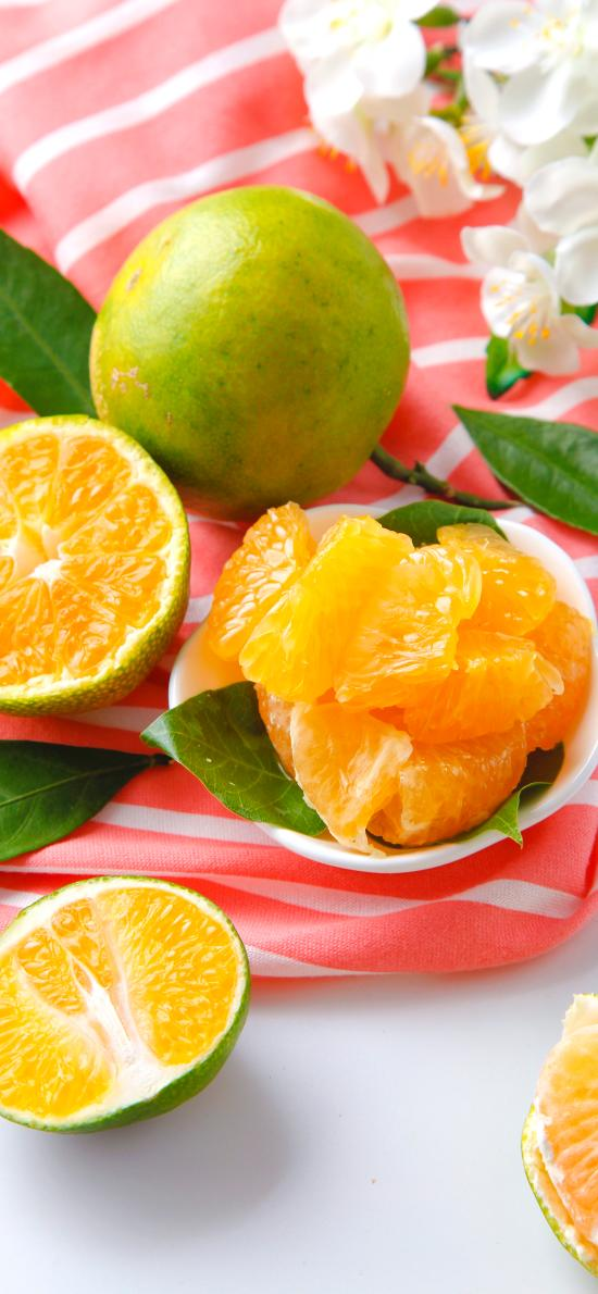 水果 柑橘 橘子 切開 新鮮