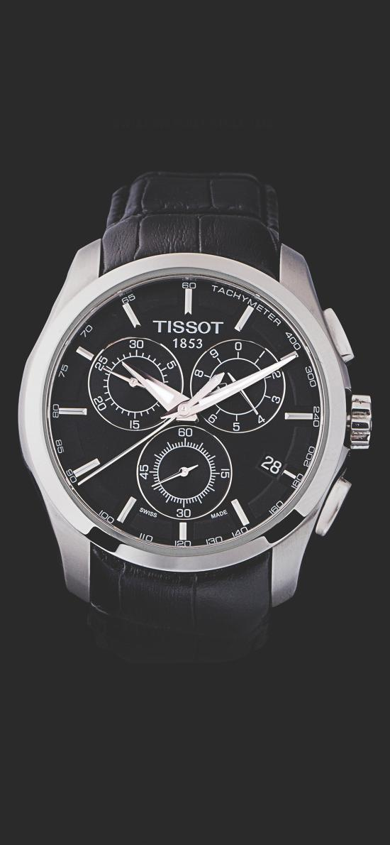 手表 TISSOT 天梭 指針