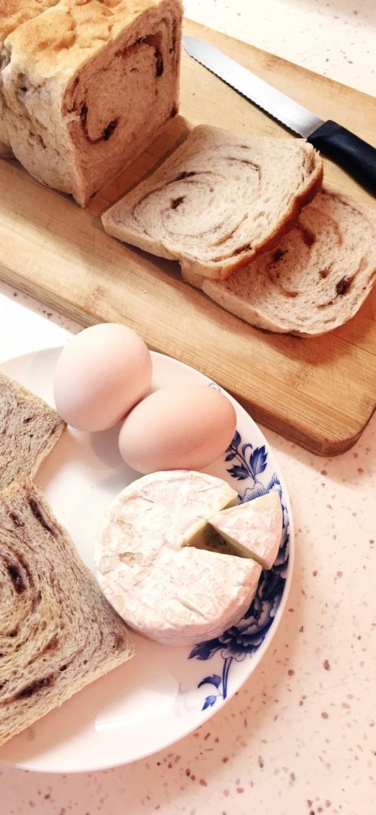 面包 烘烤 案板 奶酪