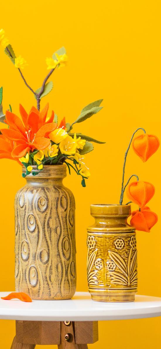 假花 裝飾 花瓶 插花