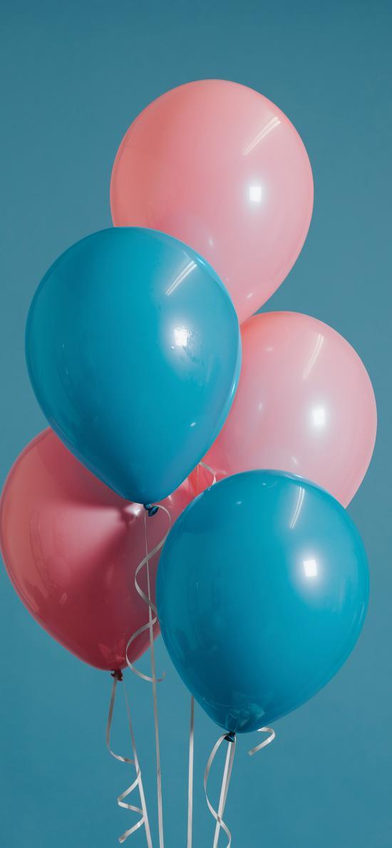 气球 色彩 氢气球 上升