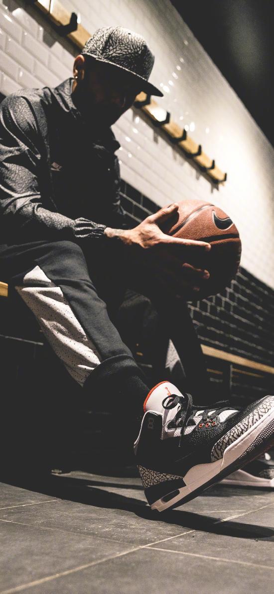 篮球 运动 男子 球鞋