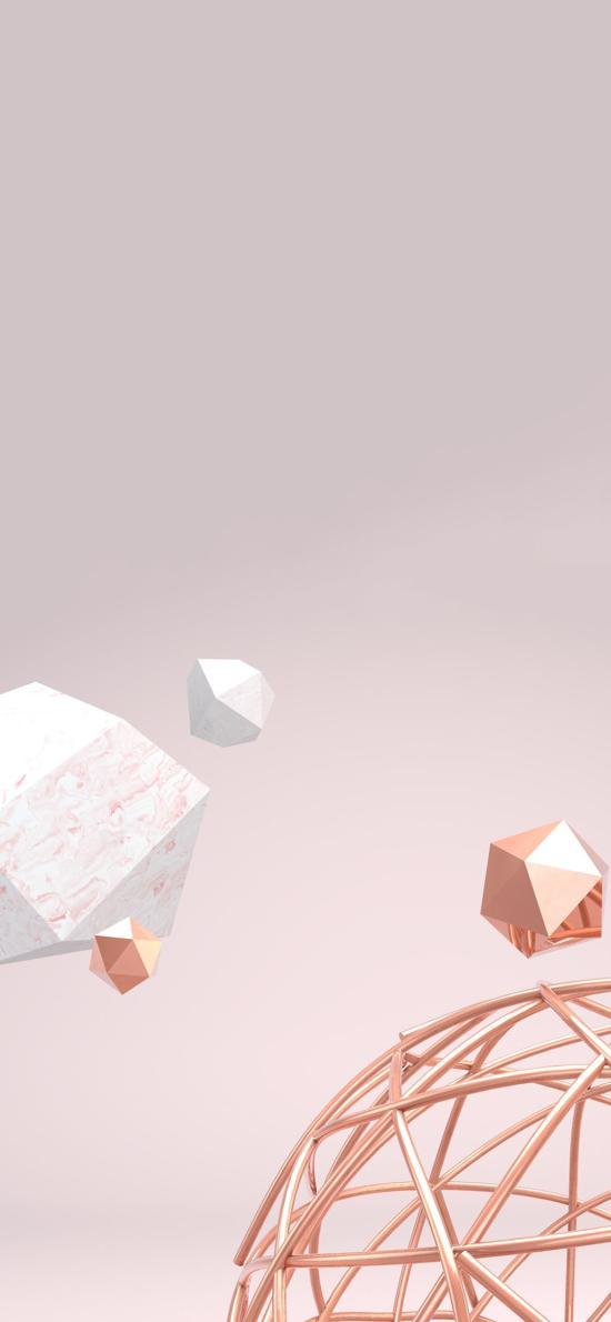 几何体 球体 镂空 静物