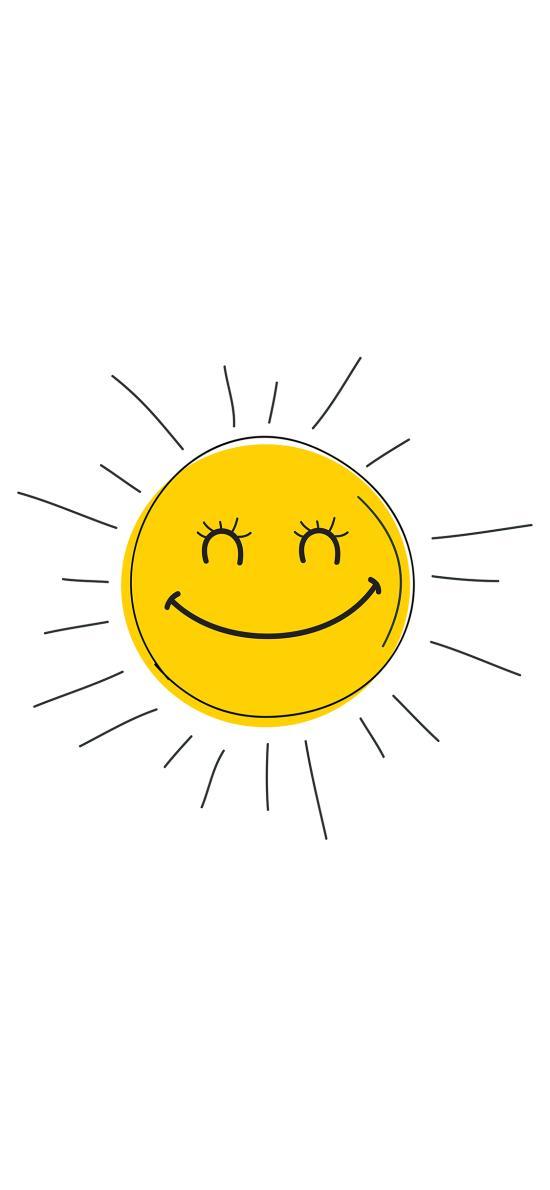 笑脸 太阳 表情 阳光