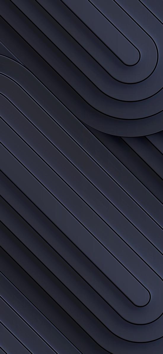 线条 黑色 曲线 平行