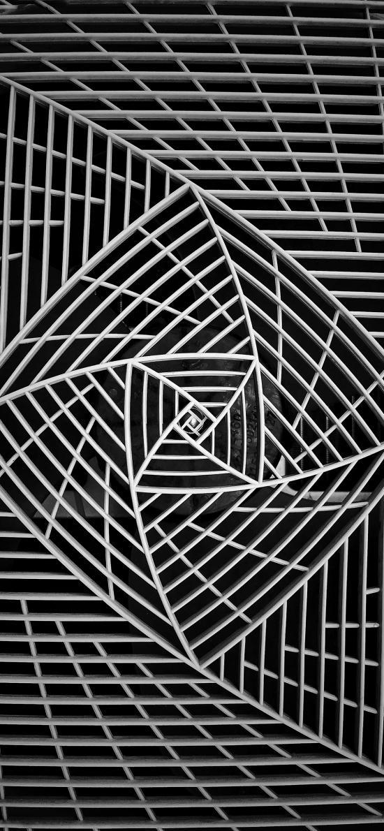 几何 图形 黑白 空间
