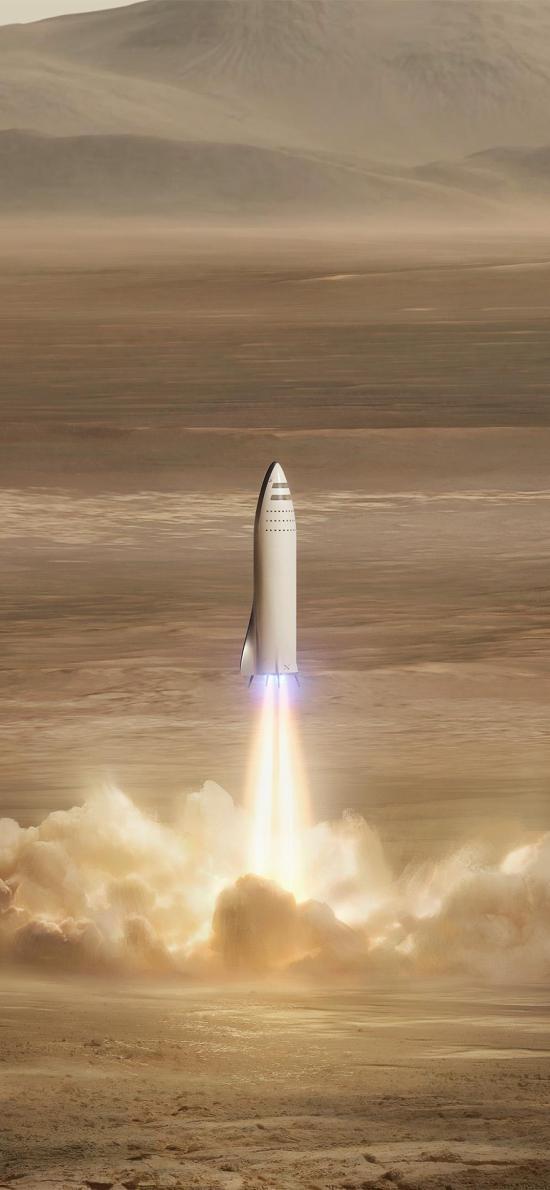 火箭 发射 火焰 科技