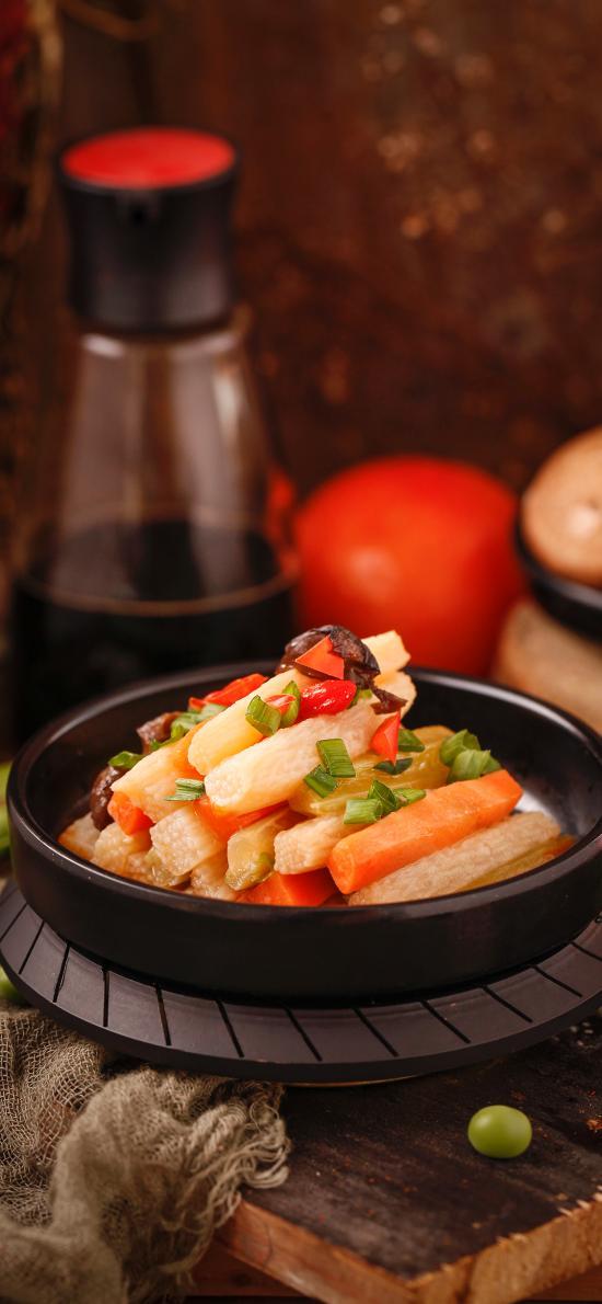 凉菜 腌制 萝卜 下饭菜