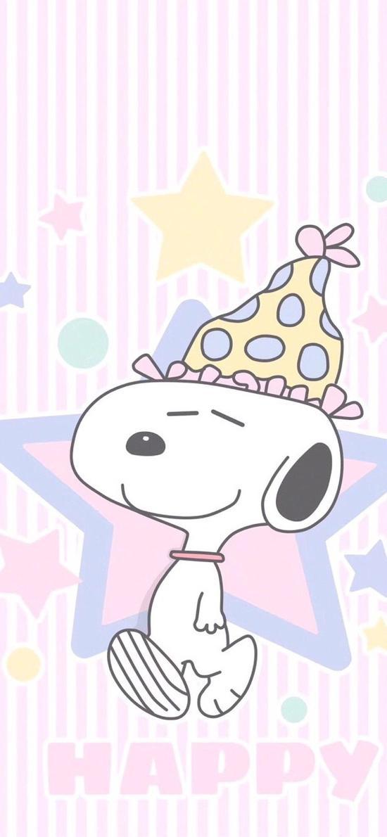 史努比 可爱 帽子 动画