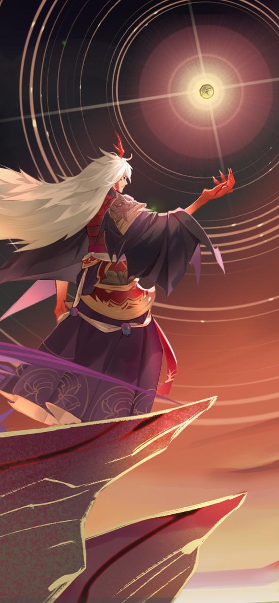 手游 阴阳师 茨木童子 式神