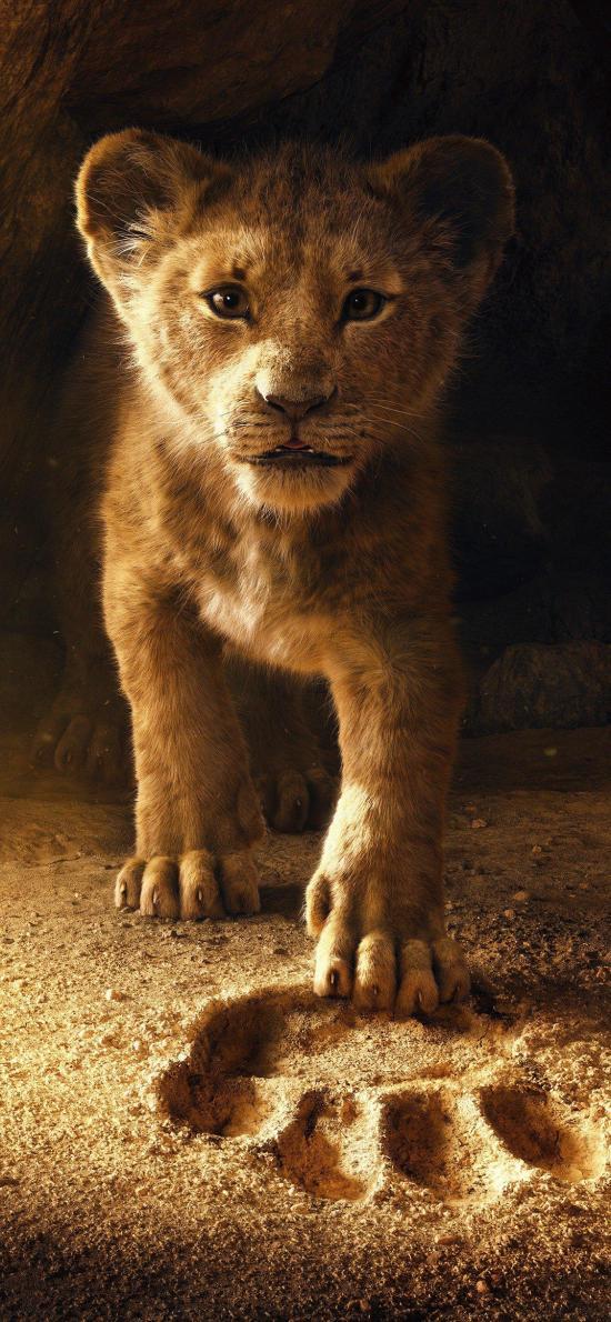 迪士尼 狮子王 海报 辛巴 幼狮