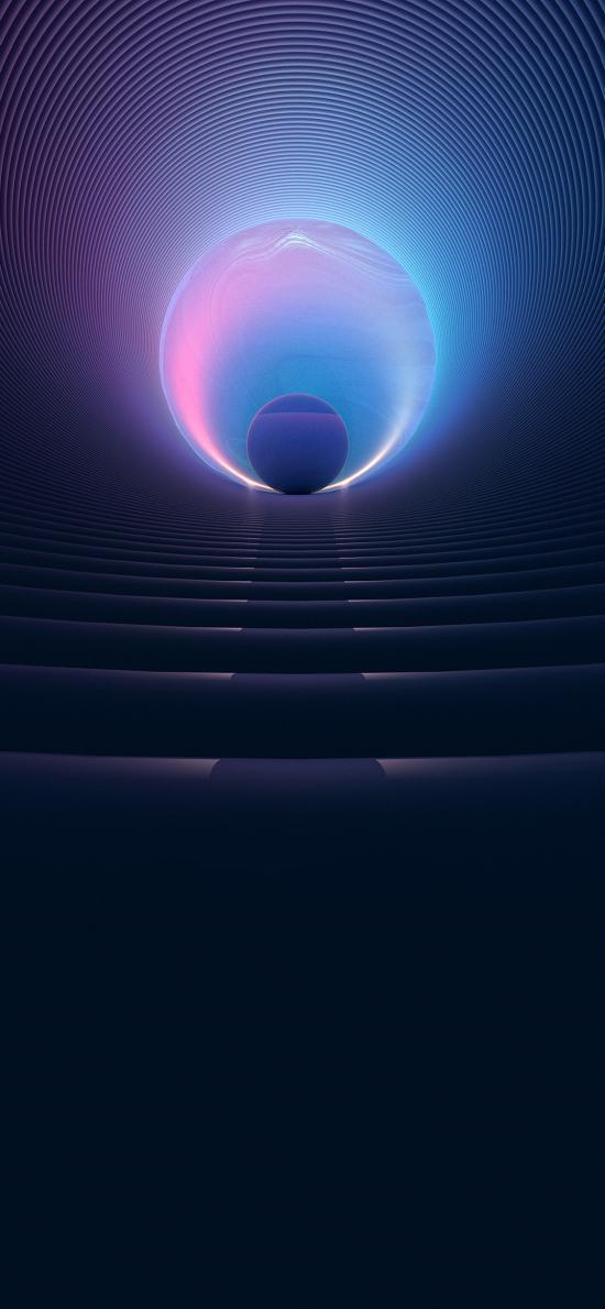 球体 色彩 线条 台阶 苹果