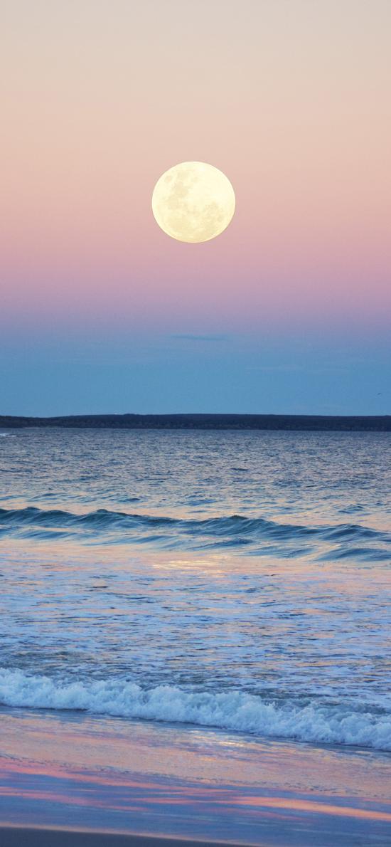 景色 体育 大海 海浪 渐变