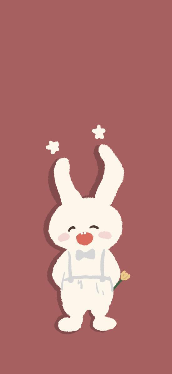 可爱 兔子 耳朵 卡通