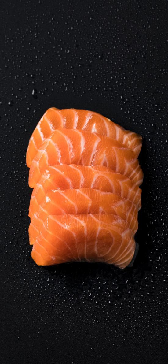 三文鱼 刺身 鱼生 鱼肉