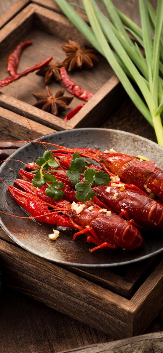 小龙虾 美味 河鲜 鲜红