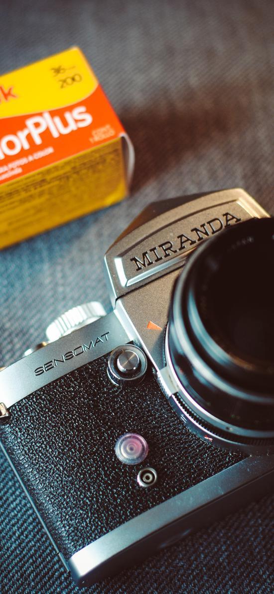相机 复古 老式 胶卷