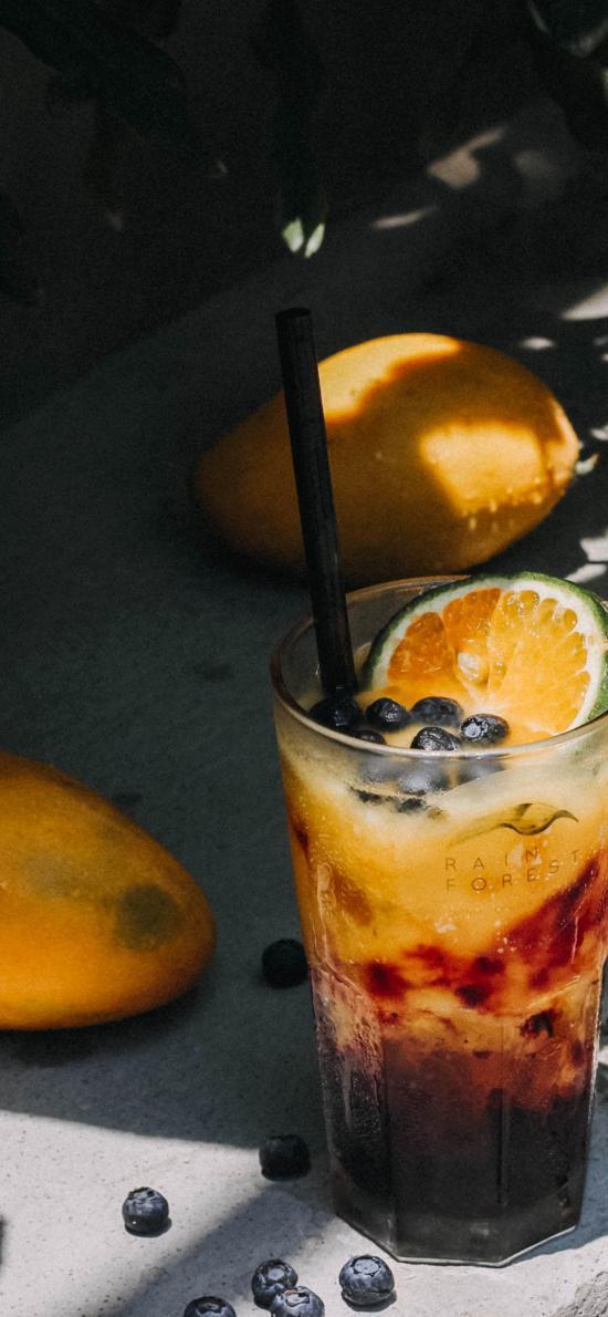 奶茶 果汁 蓝莓 柠檬 芒果