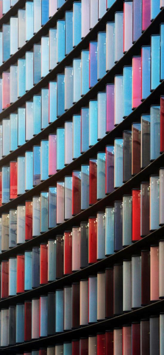 色彩 窗户 排列 间距