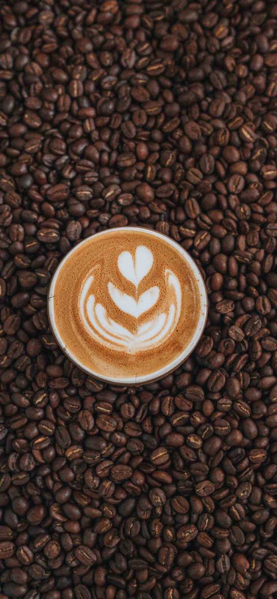 飲品 咖啡 拉花 咖啡豆
