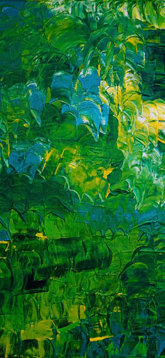 色彩 绿色 颜料 艺术