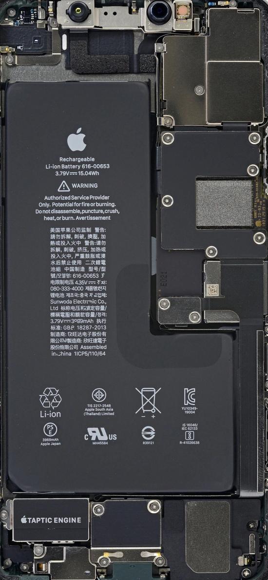 电池 后板 零件 苹果