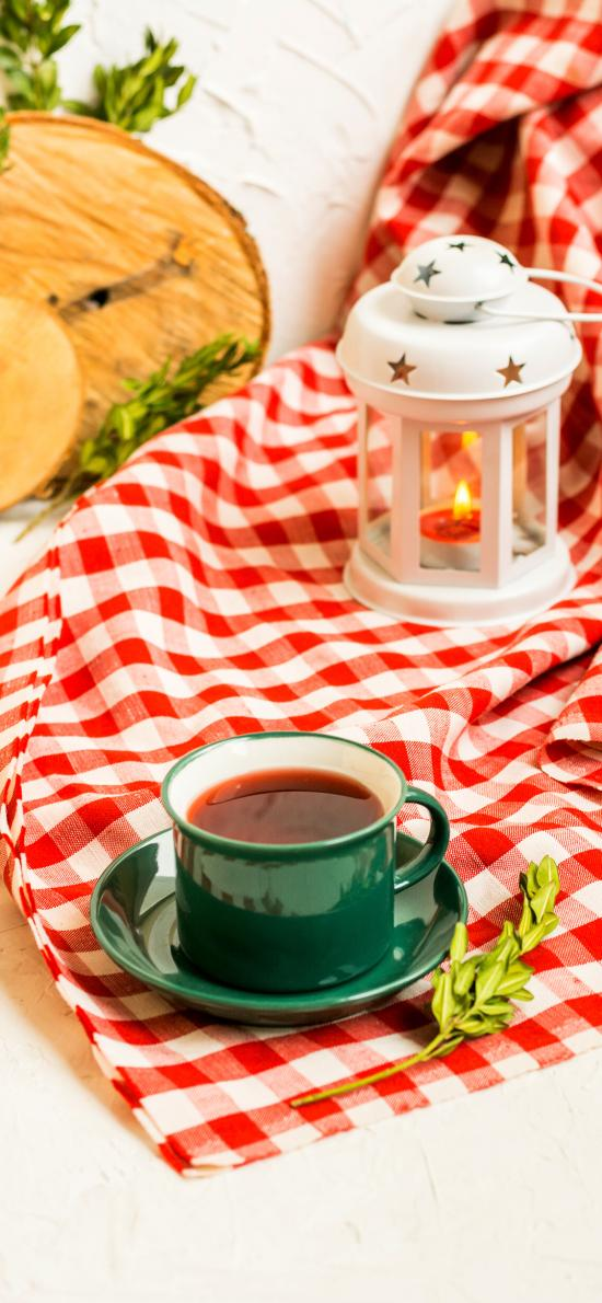 靜物 茶水 咖啡 燈具 桌布