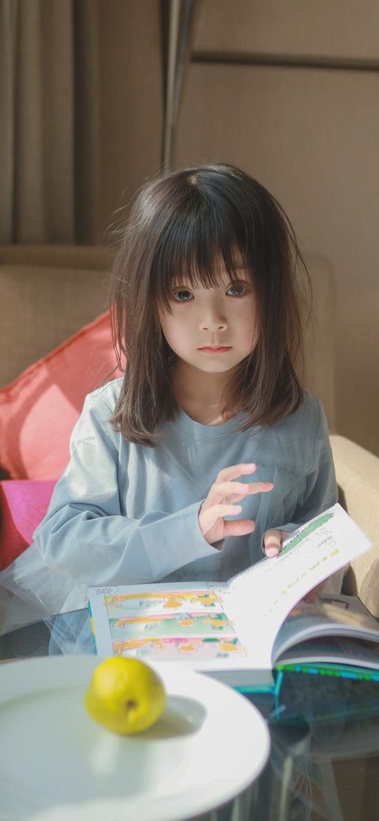 哈琳 小女孩 儿童 可爱