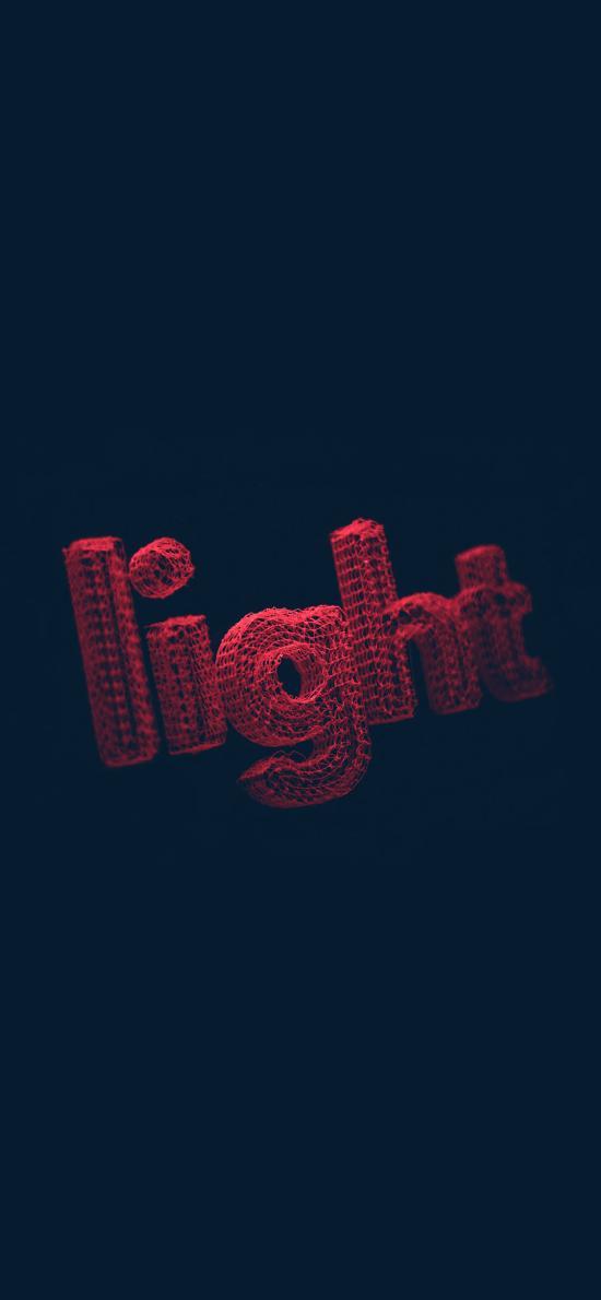light 灯光 立体 丝线