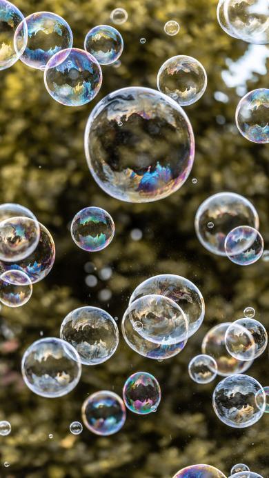 泡泡 肥皂泡 轻盈 漂浮