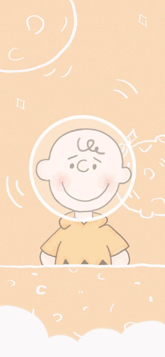 查理布朗 史努比 hello 卡通