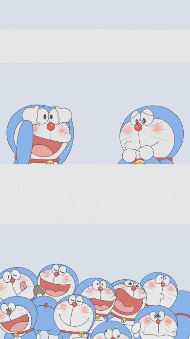 卡通 日漫 哆啦A梦(取自微博:一颗萝卜胡)